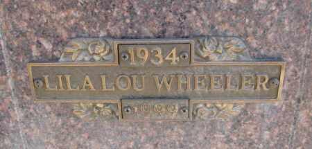 WHEELER, LILA LOU - Yankton County, South Dakota | LILA LOU WHEELER - South Dakota Gravestone Photos