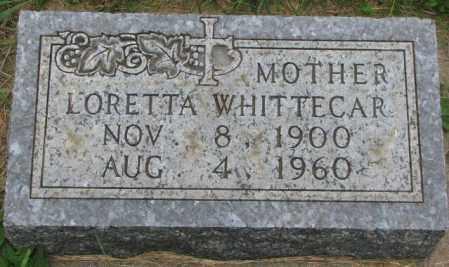 WHITTECAR, LORETTA - Yankton County, South Dakota | LORETTA WHITTECAR - South Dakota Gravestone Photos