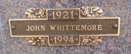 WHITTEMORE, JOHN - Yankton County, South Dakota | JOHN WHITTEMORE - South Dakota Gravestone Photos