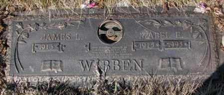 WIBBEN, JAMES L. - Yankton County, South Dakota | JAMES L. WIBBEN - South Dakota Gravestone Photos