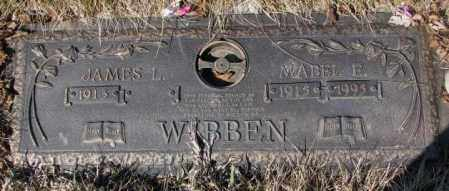 WIBBEN, JAMES L. - Yankton County, South Dakota | JAMES L. WIBBEN - South Dakota Gravestone Photos