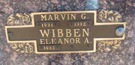 WIBBEN, MARVIN G. - Yankton County, South Dakota | MARVIN G. WIBBEN - South Dakota Gravestone Photos