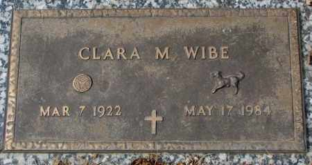 WIBE, CLARA M. - Yankton County, South Dakota   CLARA M. WIBE - South Dakota Gravestone Photos