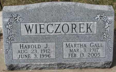 GALL WIECZOREK, MARTHA - Yankton County, South Dakota | MARTHA GALL WIECZOREK - South Dakota Gravestone Photos