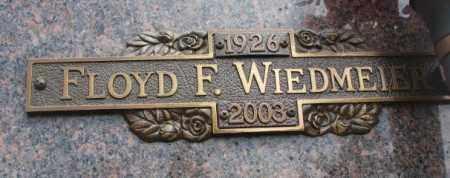 WIEDMEIER, FLOYD F. - Yankton County, South Dakota | FLOYD F. WIEDMEIER - South Dakota Gravestone Photos