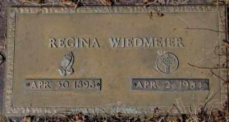 WIEDMEIER, REGINA - Yankton County, South Dakota   REGINA WIEDMEIER - South Dakota Gravestone Photos