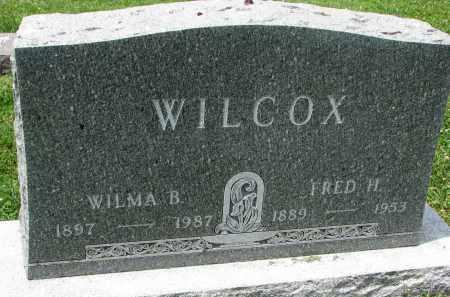 WILCOX, FRED H. - Yankton County, South Dakota   FRED H. WILCOX - South Dakota Gravestone Photos