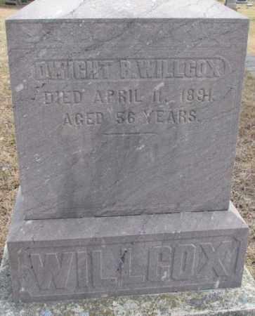 WILLCOX, DWIGHT P. - Yankton County, South Dakota | DWIGHT P. WILLCOX - South Dakota Gravestone Photos