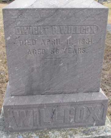 WILLCOX, DWIGHT P. - Yankton County, South Dakota | DWIGHT P. WILLCOX - South Dakota Gravestone Photos