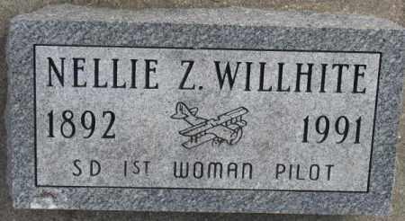 WILLHITE, NELLIE Z. - Yankton County, South Dakota | NELLIE Z. WILLHITE - South Dakota Gravestone Photos