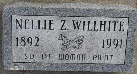 WILLHITE, NELLIE Z. - Yankton County, South Dakota | NELLIE Z. WILLHITE - South Dakota Gravestone Photos