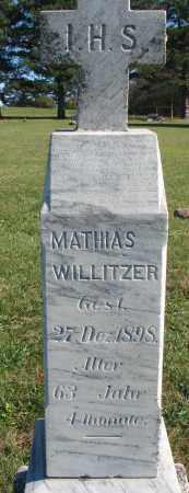 WILLITZER, MATHIAS - Yankton County, South Dakota   MATHIAS WILLITZER - South Dakota Gravestone Photos