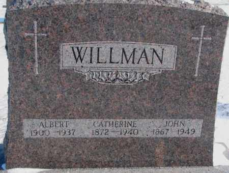 WILLMAN, CATHERINE - Yankton County, South Dakota | CATHERINE WILLMAN - South Dakota Gravestone Photos