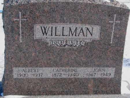 WILLMAN, CATHERINE - Yankton County, South Dakota   CATHERINE WILLMAN - South Dakota Gravestone Photos