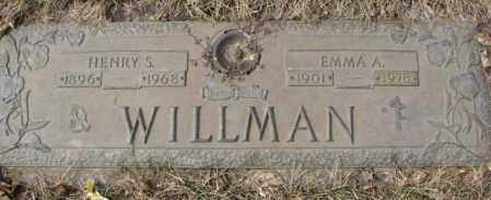 WILLMAN, HENRY S. - Yankton County, South Dakota | HENRY S. WILLMAN - South Dakota Gravestone Photos