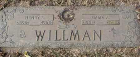 WILLMAN, HENRY S. - Yankton County, South Dakota   HENRY S. WILLMAN - South Dakota Gravestone Photos