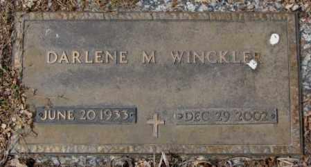 WINCKLER, DARLENE M. - Yankton County, South Dakota | DARLENE M. WINCKLER - South Dakota Gravestone Photos