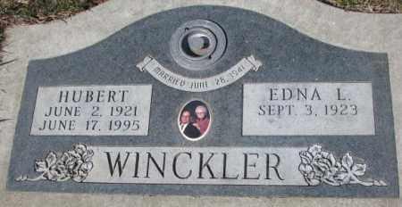 WINCKLER, EDNA L. - Yankton County, South Dakota | EDNA L. WINCKLER - South Dakota Gravestone Photos