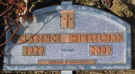 WINKELMAN, CLARENCE - Yankton County, South Dakota | CLARENCE WINKELMAN - South Dakota Gravestone Photos