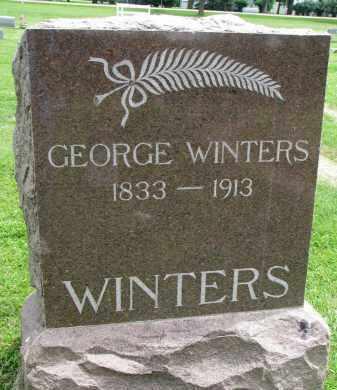 WINTERS, GEORGE - Yankton County, South Dakota | GEORGE WINTERS - South Dakota Gravestone Photos