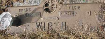 WIRTH, FRANK J. - Yankton County, South Dakota | FRANK J. WIRTH - South Dakota Gravestone Photos
