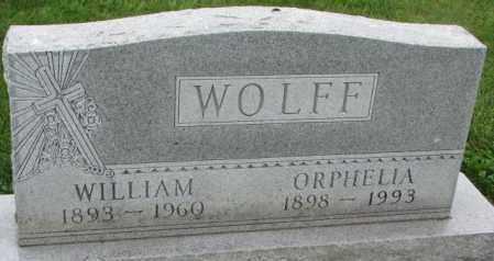 WOLFF, ORPHELIA - Yankton County, South Dakota | ORPHELIA WOLFF - South Dakota Gravestone Photos