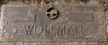 WOLLMAN, BERNADETTE - Yankton County, South Dakota | BERNADETTE WOLLMAN - South Dakota Gravestone Photos