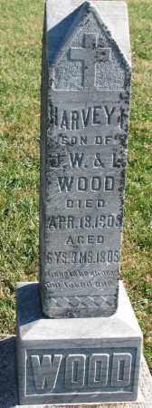 WOOD, HARVEY I. - Yankton County, South Dakota | HARVEY I. WOOD - South Dakota Gravestone Photos