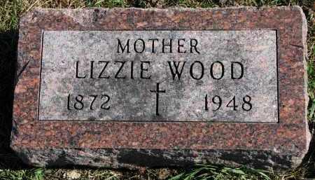 WOOD, LIZZIE - Yankton County, South Dakota | LIZZIE WOOD - South Dakota Gravestone Photos