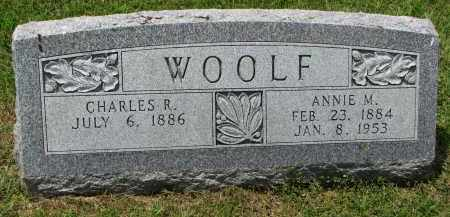 WOOLF, CHARLES R. - Yankton County, South Dakota | CHARLES R. WOOLF - South Dakota Gravestone Photos