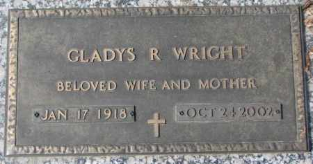 WRIGHT, GLADYS R. - Yankton County, South Dakota | GLADYS R. WRIGHT - South Dakota Gravestone Photos