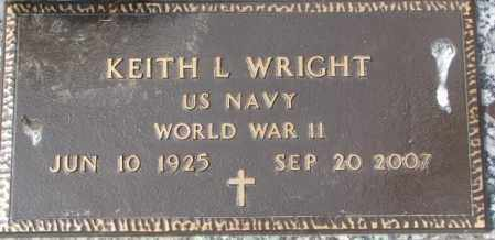 WRIGHT, KEITH L. - Yankton County, South Dakota | KEITH L. WRIGHT - South Dakota Gravestone Photos