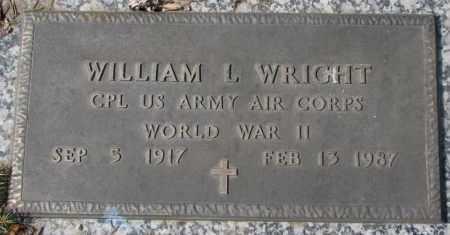 WRIGHT, WILLIAM L. - Yankton County, South Dakota   WILLIAM L. WRIGHT - South Dakota Gravestone Photos