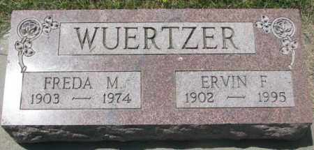 WUERTZER, FREDA M. - Yankton County, South Dakota | FREDA M. WUERTZER - South Dakota Gravestone Photos