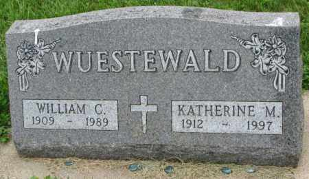 WUESTEWALD, WILLIAM C. - Yankton County, South Dakota | WILLIAM C. WUESTEWALD - South Dakota Gravestone Photos