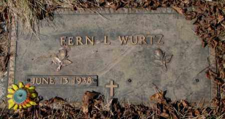 WURTZ, FERN L. - Yankton County, South Dakota | FERN L. WURTZ - South Dakota Gravestone Photos