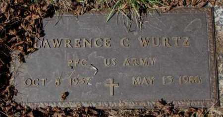 WURTZ, LAWRENCE C. (MILITARY) - Yankton County, South Dakota | LAWRENCE C. (MILITARY) WURTZ - South Dakota Gravestone Photos