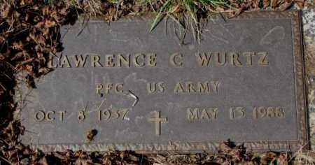 WURTZ, LAWRENCE C. (MILITARY) - Yankton County, South Dakota | LAWRENCE C. (MILITARY) WURTZ - South Dakota Gravestone Photos