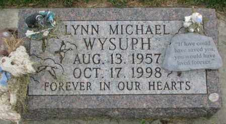 WYSUPH, LYNN MICHAEL - Yankton County, South Dakota | LYNN MICHAEL WYSUPH - South Dakota Gravestone Photos