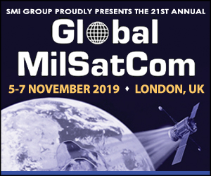 Global MilSatCom, November 5-7, 2019, London, UK