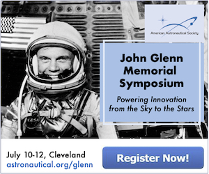 AAS Glenn Symposium July 10-12 in Cleveland