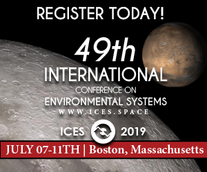 49th International Conference on Environmental Systems - ICES 2019