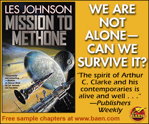 Mission To Methonē by Les Johnson - Baen Books