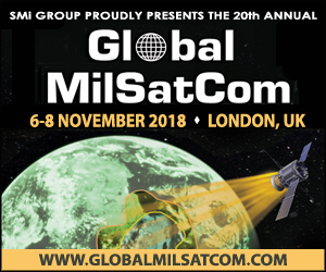 Global MilSatCom Conference, November 6-8, London, UK
