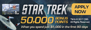 NASA Star Trek Credit Card
