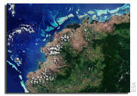 Earth from Space: Viti Levu, Fiji