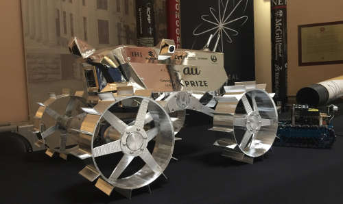 iSpace Goggle Lunar X Prize Rover