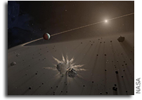 White Dwarf Orbited By Planetary Fragments Has Been Analyzed