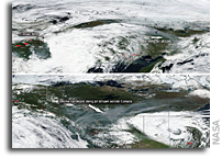 Smoke from Siberian Fires Reaches Canada