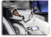 Trying Out The SpaceX Spacesuit
